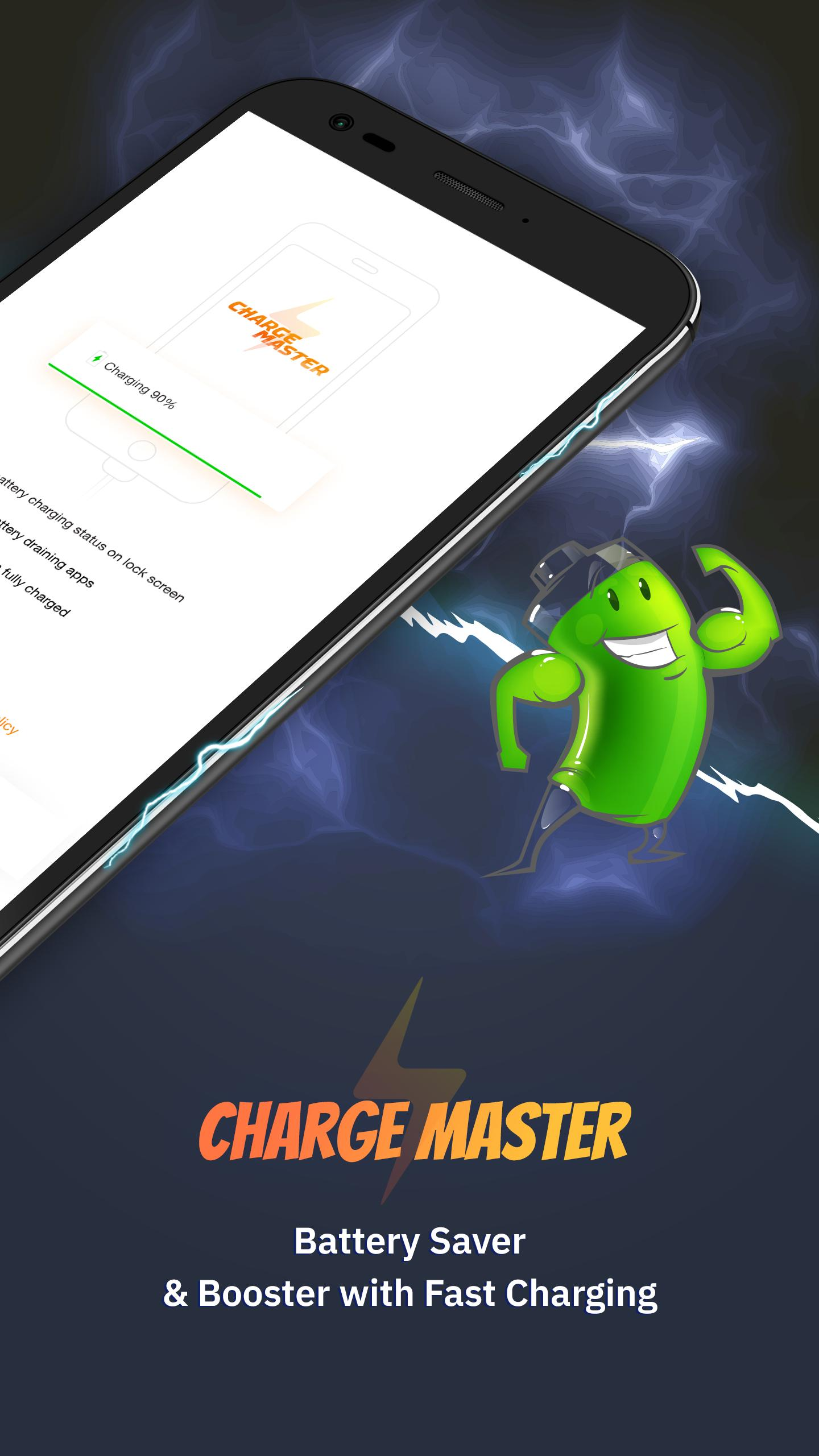 Charge Master Battery Saver And Smart Charging For Android Apk Download
