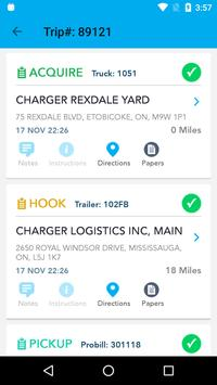 Charger Logistics Driver App apk screenshot