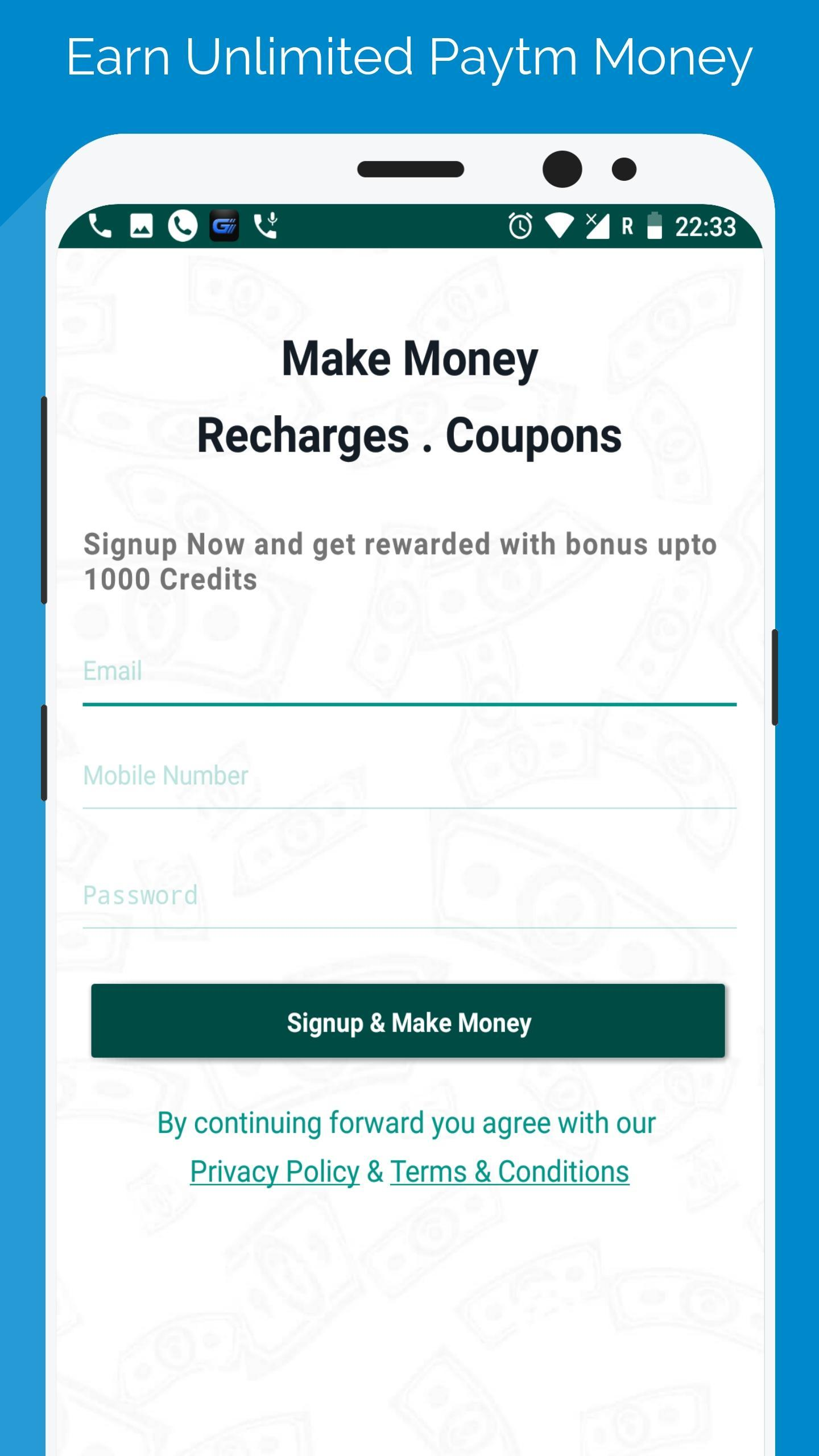 Free Paytm Money - Earn Unlimited Paytm Money for Android - APK Download
