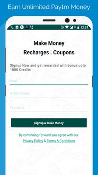 Free Paytm Money - Earn Unlimited Paytm Money poster