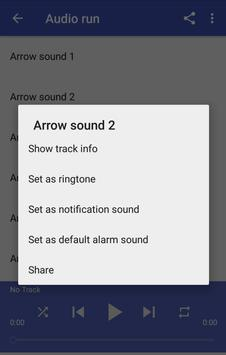 Arrow sounds screenshot 2