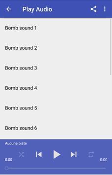 Bomb sound effects screenshot 2