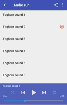 Foghorn sounds apk screenshot