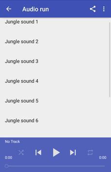 Jungle sounds apk screenshot