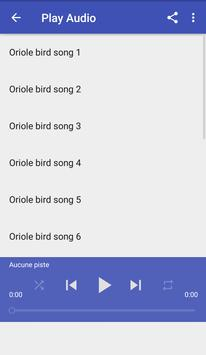 Oriole bird sounds apk screenshot