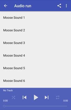 Moose Sounds apk screenshot