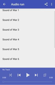 Sounds of War screenshot 2