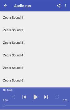 Zebra Sounds apk screenshot
