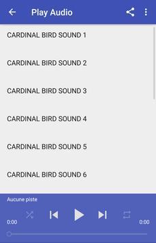 Cardinal bird sounds apk screenshot