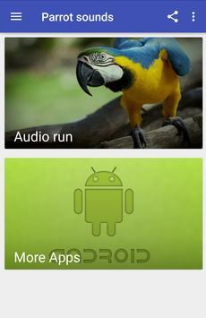 Parrot sounds apk screenshot