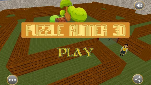 Maze Runner 3D poster