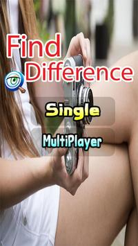 Spot Differences Between Two Pictures Game poster
