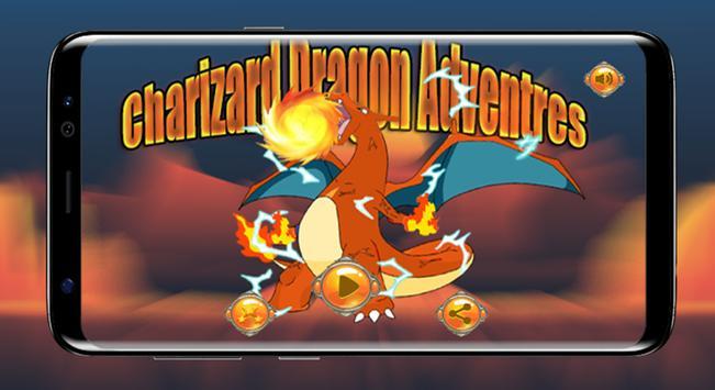 Charizard Dragon Adventures poster