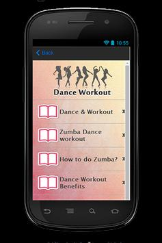 Dance Workout Guide screenshot 1