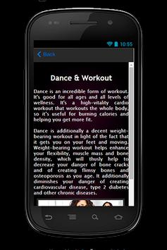 Dance Workout Guide screenshot 2