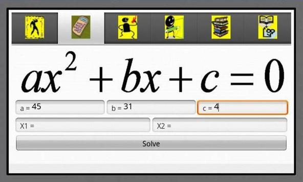 Algebra Helper 1 poster