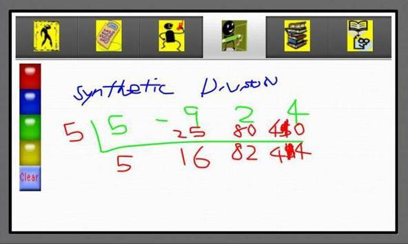 Algebra Helper 1 screenshot 3