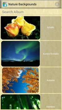 Nature Backgrounds poster