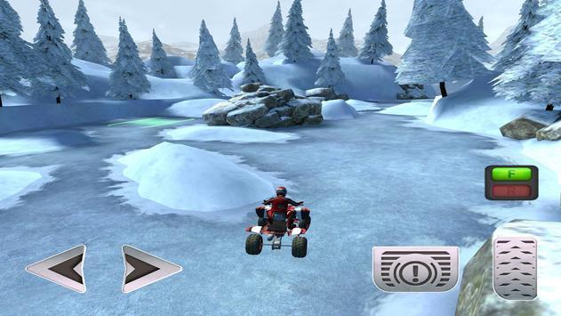 ATV Snow Simulator - Quad Bike screenshot 9