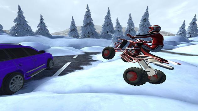 ATV Snow Simulator - Quad Bike screenshot 10