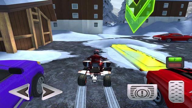 ATV Snow Simulator - Quad Bike screenshot 11