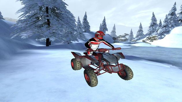 ATV Snow Simulator - Quad Bike screenshot 12