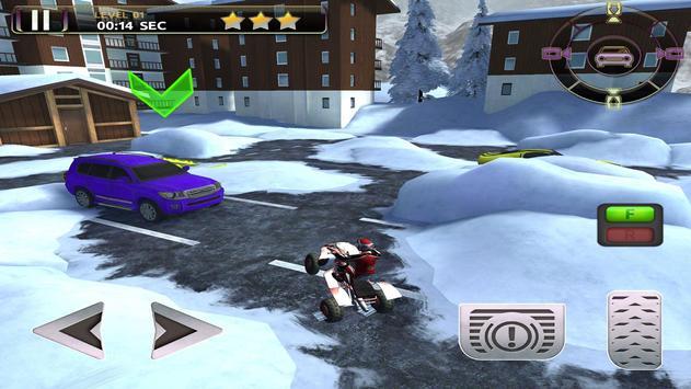 ATV Snow Simulator - Quad Bike screenshot 3
