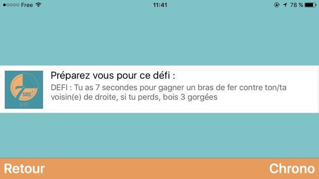 7 secondes - Le jeu de l'apéro screenshot 3