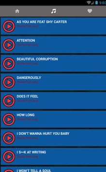 Charlie puth - How Long & Attention New Song lyric apk screenshot