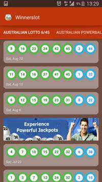 Lotto Results apk screenshot