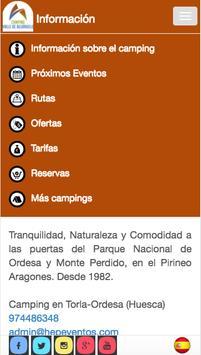 Camping Valle de Bujaruelo apk screenshot