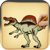 learn to Draw Dinosaur icon