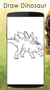 learn to Draw Dinosaur apk screenshot