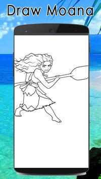 Learn to draw moana poster