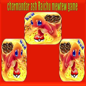 charmander ash Raichu mewtwo game screenshot 3