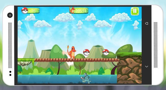 charmander Dragon Run screenshot 5