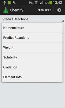 Chemify: Chemistry Tools screenshot 5