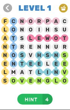 Word Search Simple poster