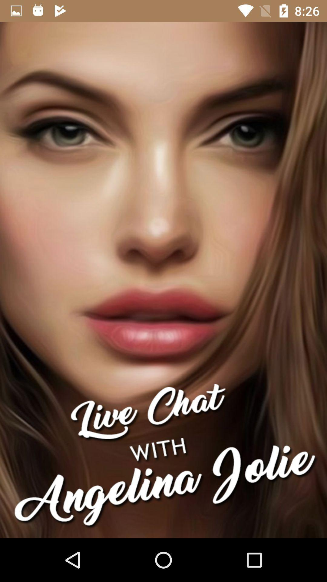 Angelina Jolie Cyborg 2 1993 live chat with angelina jolie - prank for android - apk download