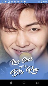 Live Chat With BTS RM KPop Fans - Prank poster