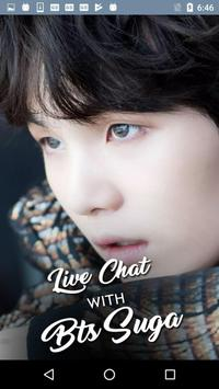 Live Chat With BTS Suga KPop Fans - Prank poster