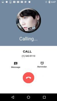 Live Chat With BTS Suga KPop Fans - Prank screenshot 4