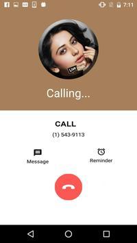 Live Chat With Rakul - Prank screenshot 4