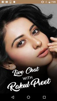 Live Chat With Rakul - Prank poster