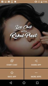 Live Chat With Rakul - Prank screenshot 1