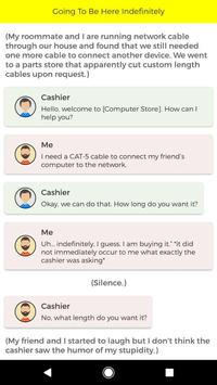Scary Chat Story apk screenshot