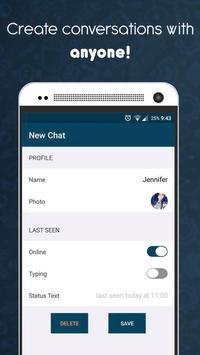 WhatsApp Fake jok - (Create fake chats) screenshot 3