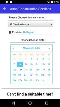 Asap Construction Services apk screenshot
