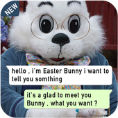 Chat with Easter Bunny icon