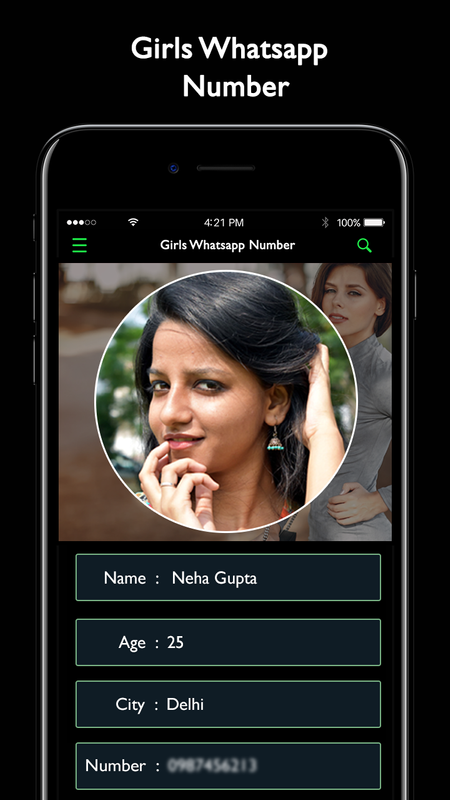 Real Girls Numbers For WhatsApp для Андроид - скачать APK